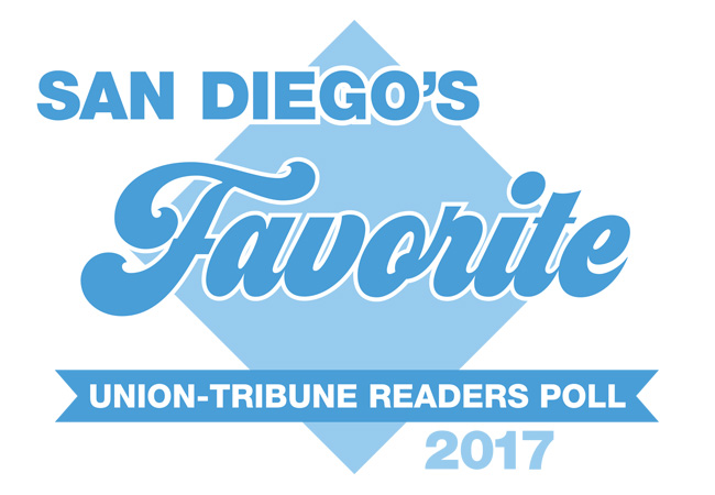 San Diego Favorite - Union-Tribune Readers Pll